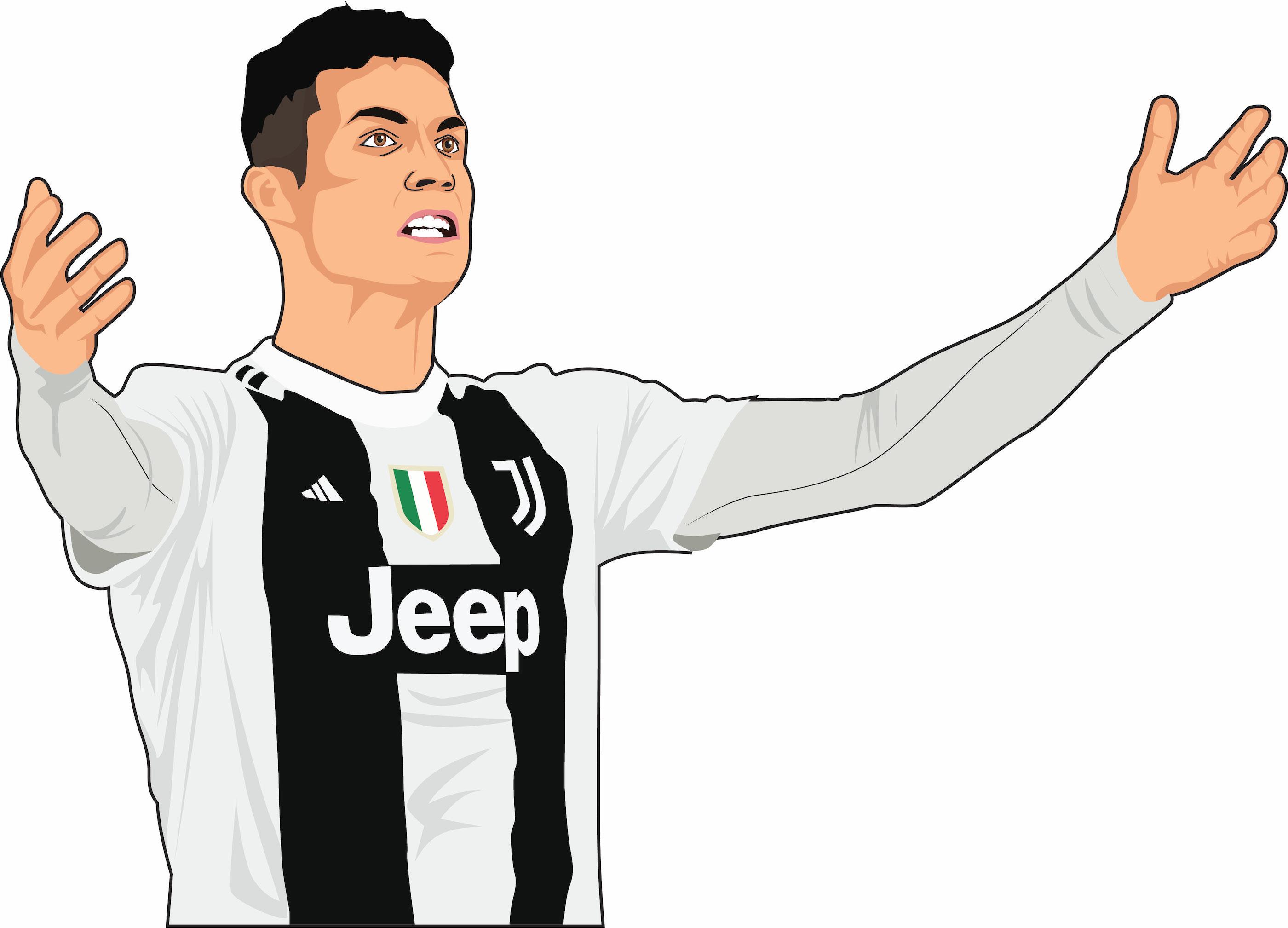 Christiano Ronaldo Cartoon