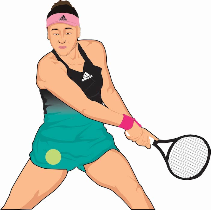 Naomi Osaka Adidas Cartoon