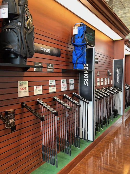 Golf Clubs at Sports Shop - Ping - TaylorMade