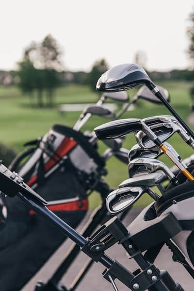 2 Sets of Golf Clubs in Bag