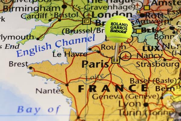 Babolat Tennis Balls Roland Garros French Open Clay Court France