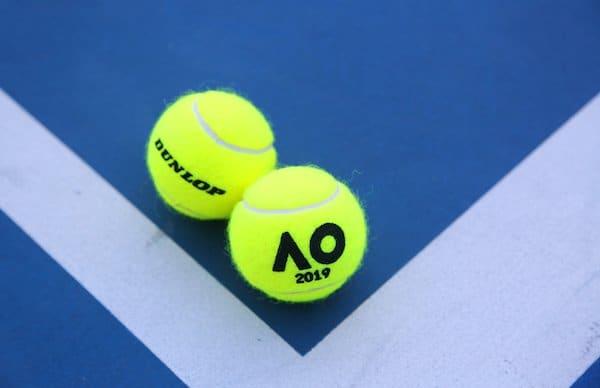 Dunlop Tennis Balls Australian Aus Open Melbourne Park Rod Laver Hard Court