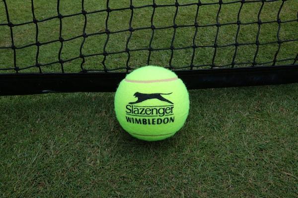 Slazenger Tennis Balls Wimbledon Championship Grass Court United Kingdom