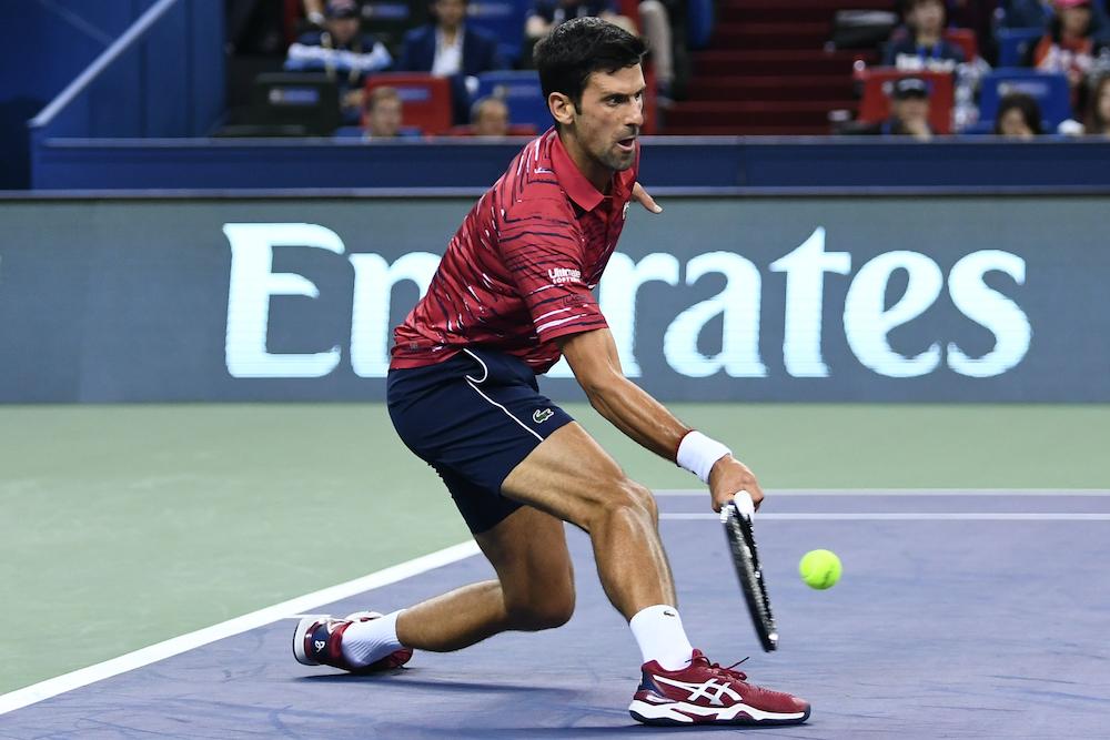 Novak Djokovic Asics Tennis Shoes