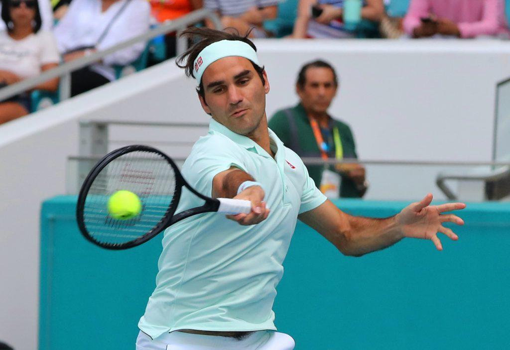 Roger Federer - Miami Open - 2019