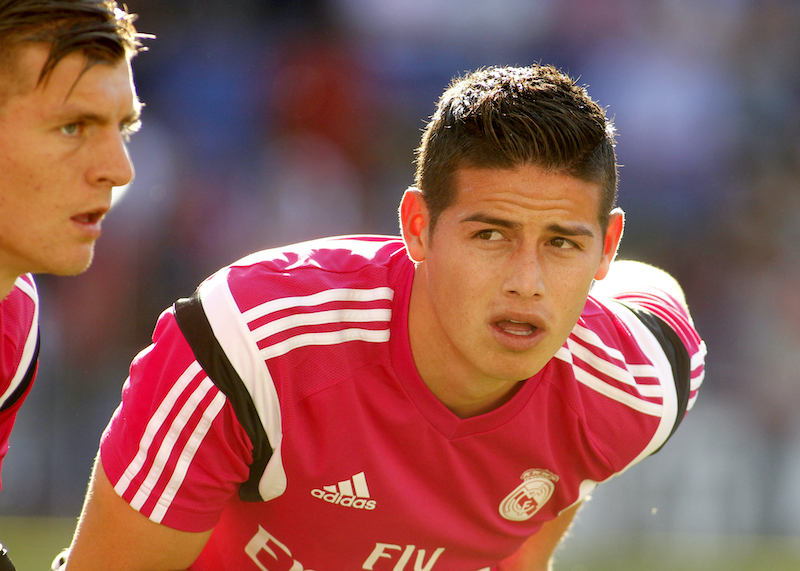 James Rodriguez - Red Adidas Jersey Number 10