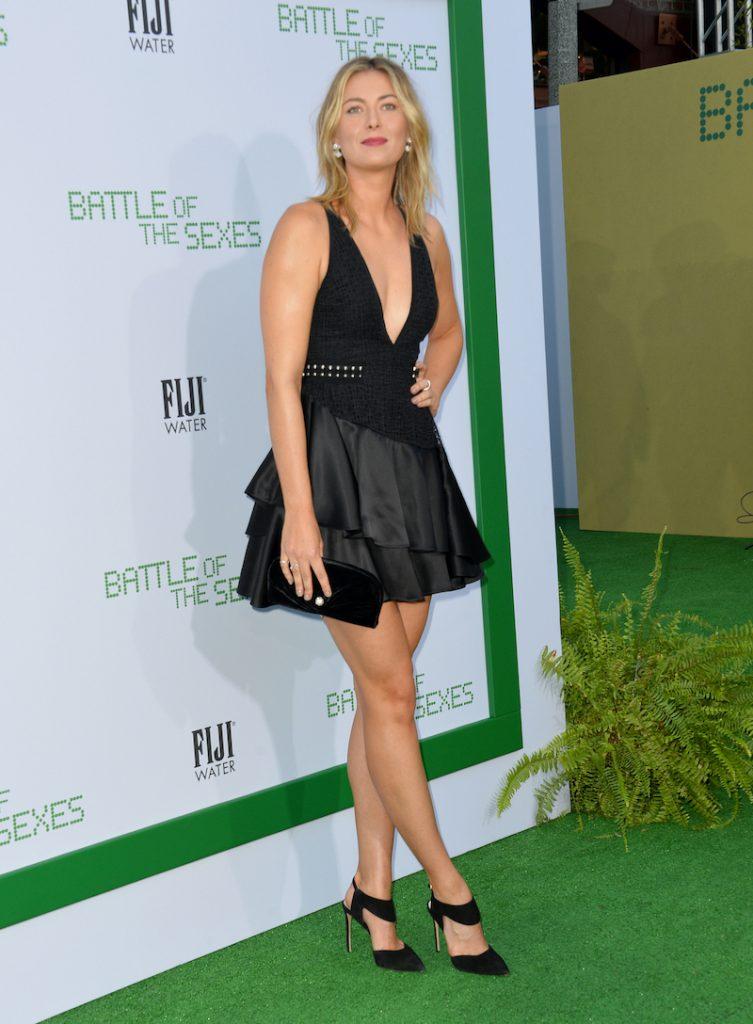 Maria Sharapova - Battle of the Sexes - 2017