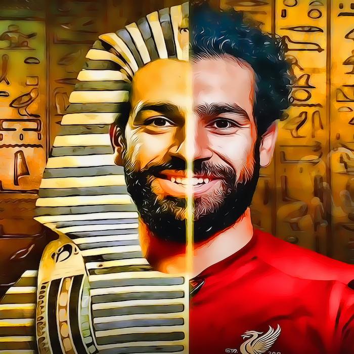 Mohamed Salah - Egyptian Pharaoh Tutankhamun