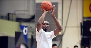 NBA star Kevin Durant