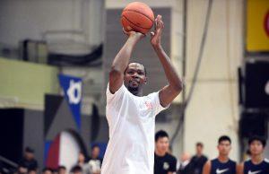 NBA star Kevin Durant