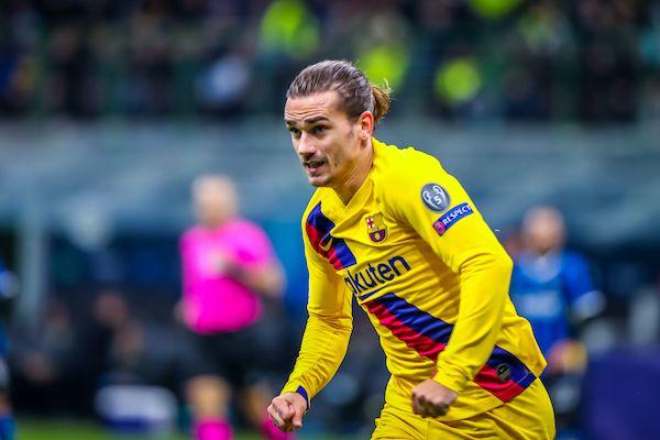 Antoine Griezmann of Barcelona