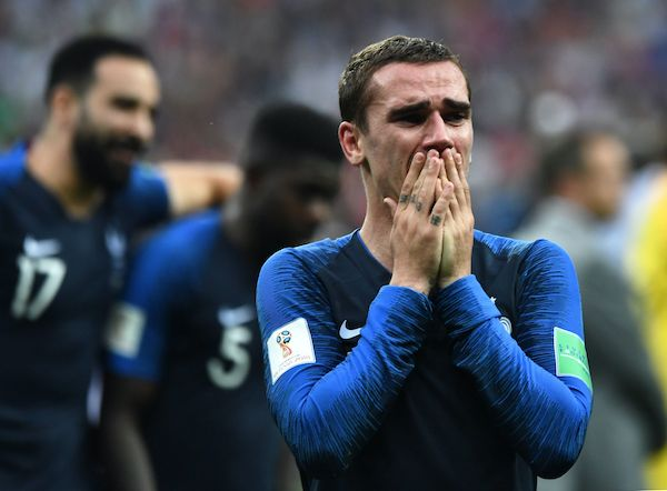 Antoine Griezmann of France celebrates