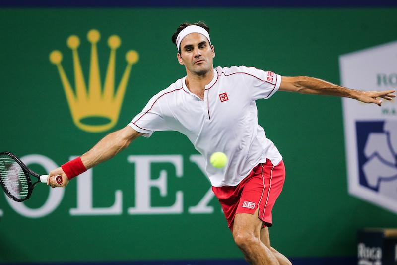 Roger Federer - Oct 2019