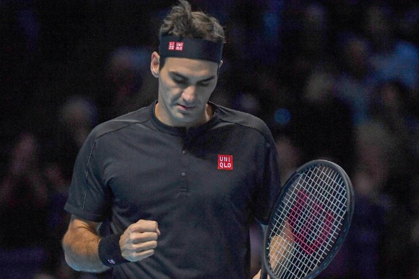 Roger federer (sui) during Nitto ATP Final NOVAK DJOKOVIC VS ROGER FEDERER, Tennis Internationals in Londra, November 14 2019 - LPS/Roberto Zanettin