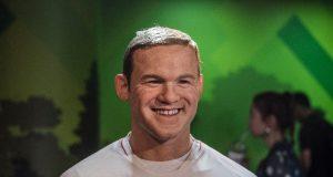 Wayne Rooney Wax Figure at Madame Tussauds Bangkok