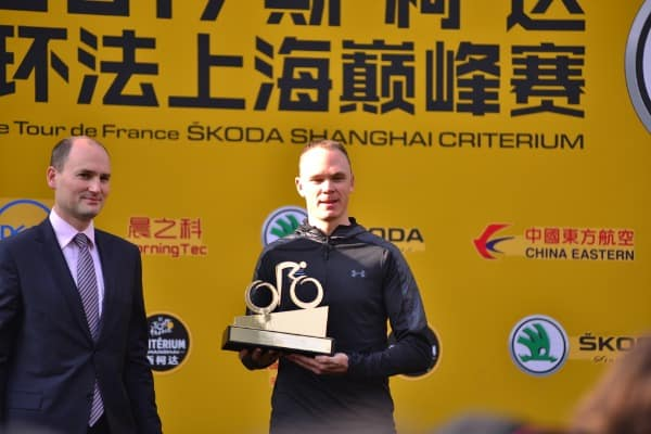British road racing cyclist Chris Froome