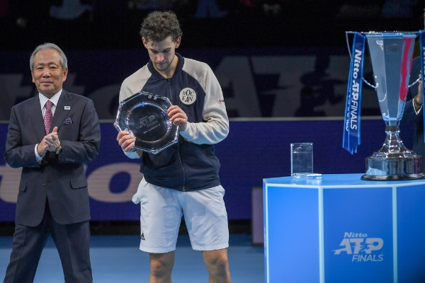 Tennis Internationals Nitto ATP Final Dominic Thiem and Stefanos Tsitsipas the final vittoria